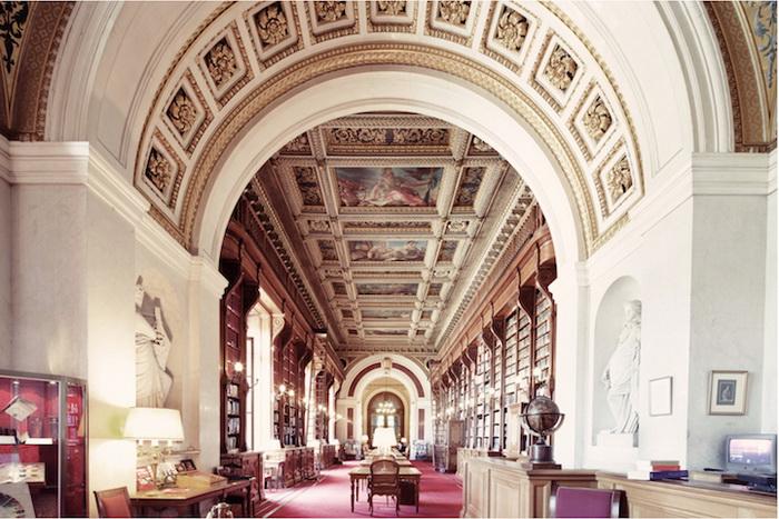Сенатская библиотека (Париж). Фотограф Фрэнк Бобот (Franck Bohbot)