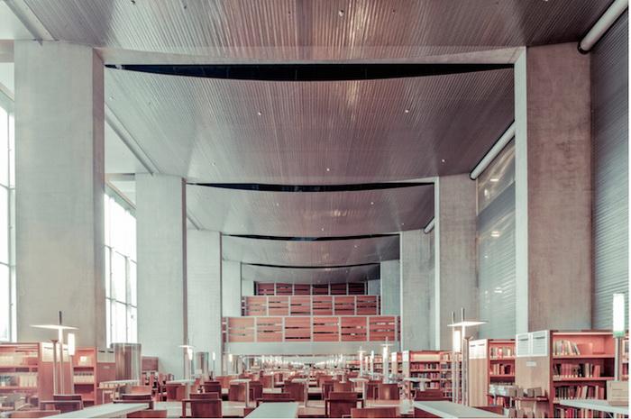 Национальная библиотека Франции(Париж). Фотограф Фрэнк Бобот (Franck Bohbot)