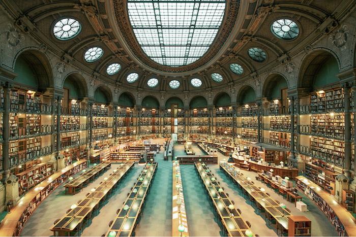 Национальная библиотека Франции (Париж). Фотограф Фрэнк Бобот (Franck Bohbot)