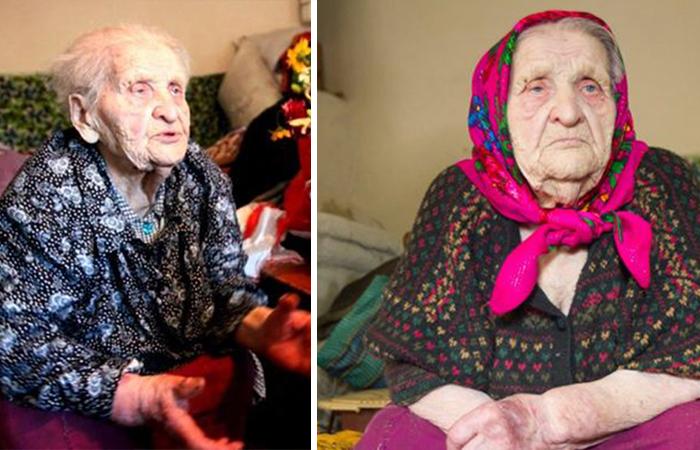Кристина Нагорная - долгожительница из Украины.