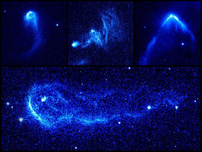 Уникальные снимки телескопа *Хаббл*