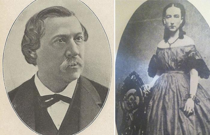 Бенджамин и Ида Вуд.