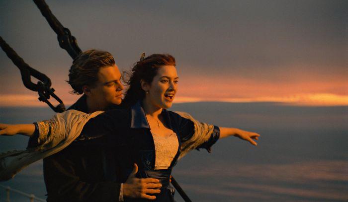 Кадр из фильма «Титаник».