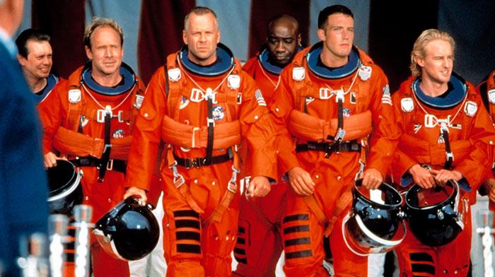 Кадр из фильма «Армагеддон».