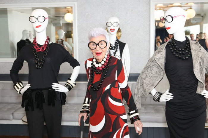 Айрис Апфель - 95-летний коллекционер одежды
