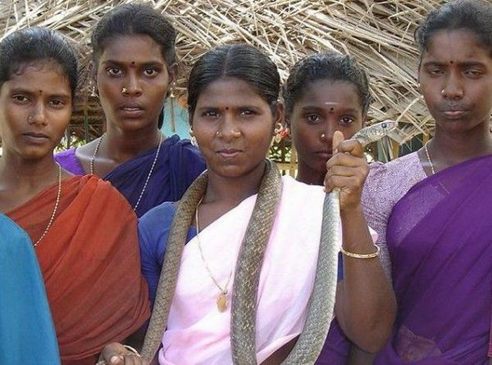 Женщины племени ирула. Фото: wildwildworld.net.ua