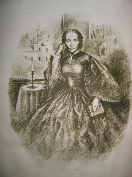 Портрет Марии Исаевой.