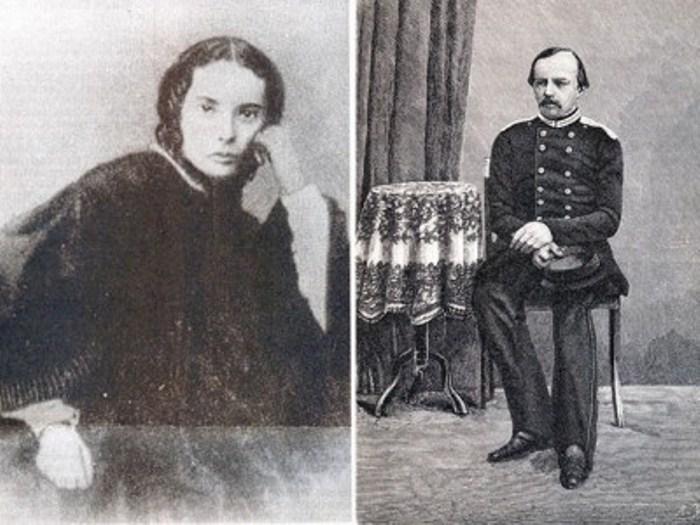 Мария Исаева и Федор Достоевский