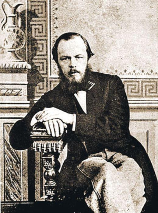 Федор Достоевский в молодости.