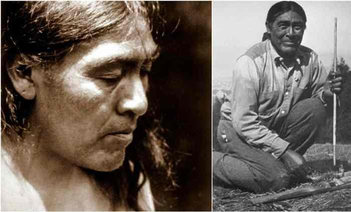 Иши - последний из племени яхи.