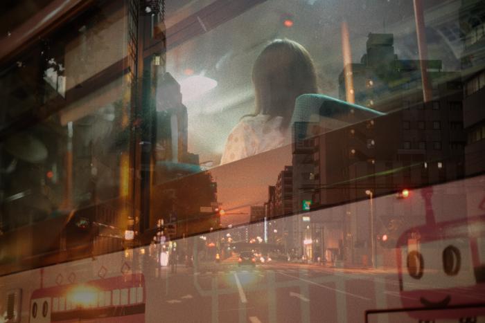 Фотографии с многократной экспозицией от Issui Enomoto