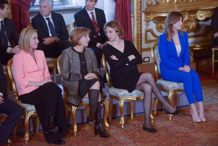 Женщины в итальянском правительстве. Фото: italy4.me