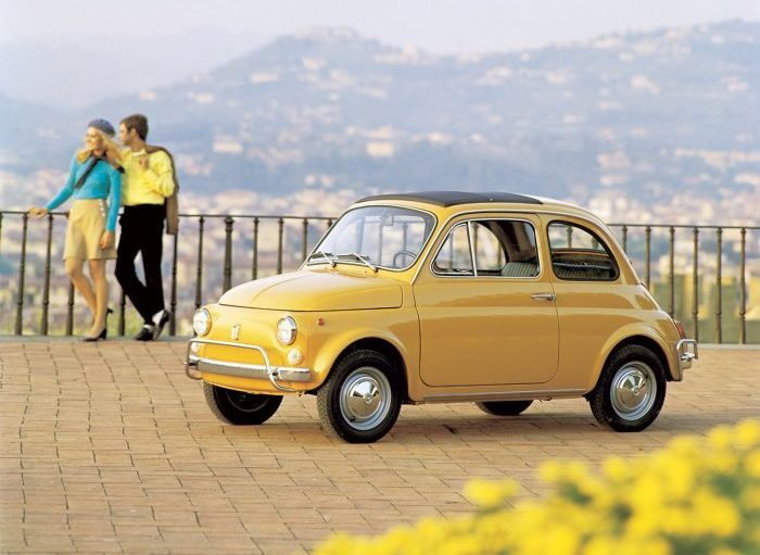Итальянская классика - Fiat 500. Фото: perizona.it