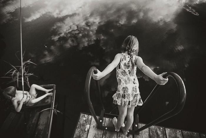 Черно-белые идиллические фотографии от Изабеллы Урбаняк (Izabela Urbaniak)