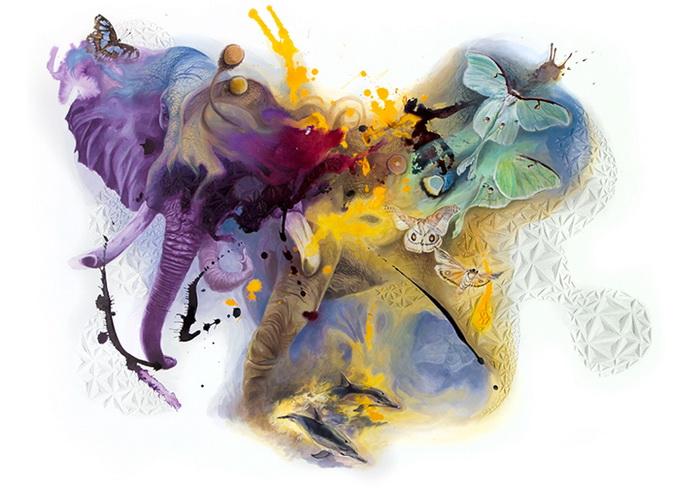 Тайны природы в многослойных работах от J. S. Weis