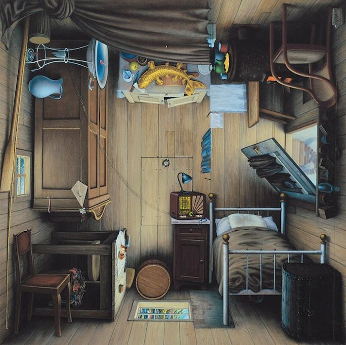 Сюрреалистические рисунки от Яцека Йерки (Jacek Yerka)