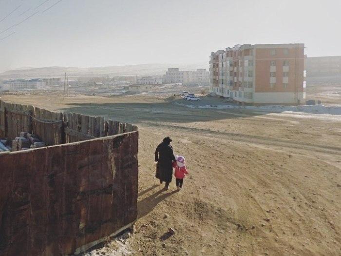 Уличные фотографии из разных стран мира от Джеки Кенни.