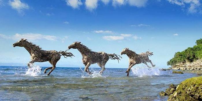 Скульптуры животных от Джеймса Дорана-Уэбба (James Doran-Webb)