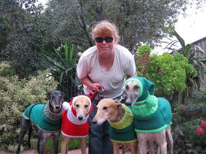 Теплая одежда для собак из приюта