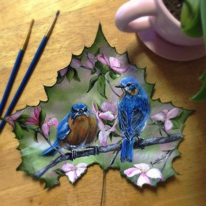 Очаровательные миниатюры от Жанет Роуз