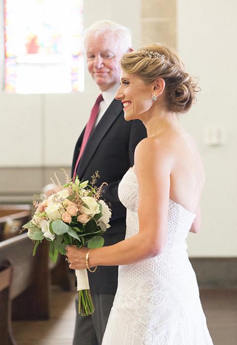 Невероятно трогательная свадьба