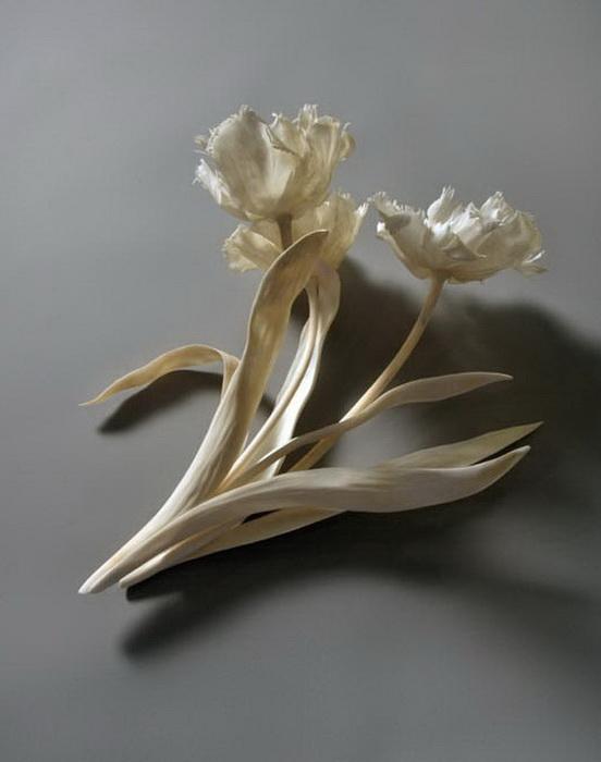 Скульптуры из костей животных от Дженнифер Траск (Jennifer Trask)
