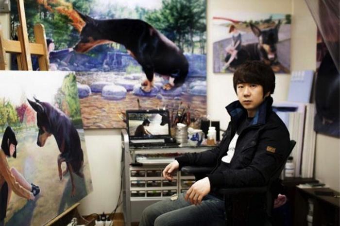 Чжон Ву Чжэ (Jeong Woo Jae) и его картины