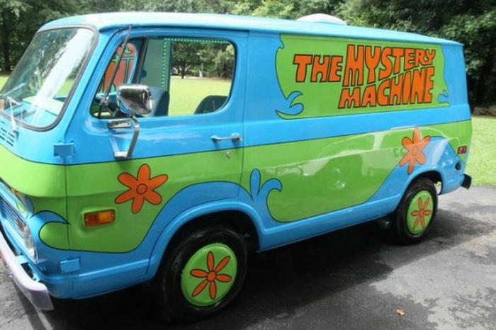 Волшебная машина Скуби-Ду