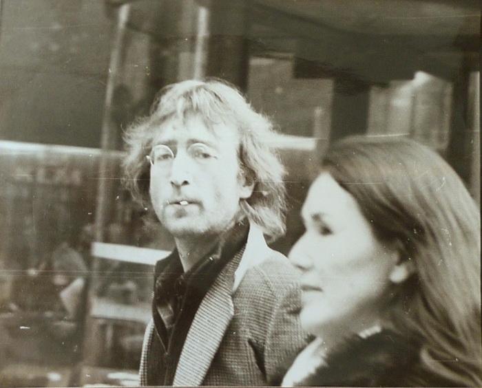 Случайные фотографии Джона Леннона