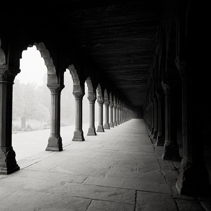 Черно-белые снимки Тадж-Махала от Йозефа Хофленера (Josef Hoflehner)