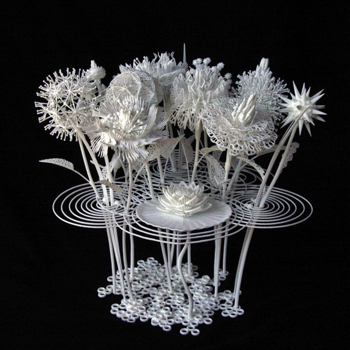 3D-скульптура от Джошуа Харкера (Joshua Harker)