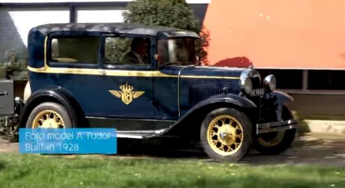 Раритетный Форд для Арнольда.