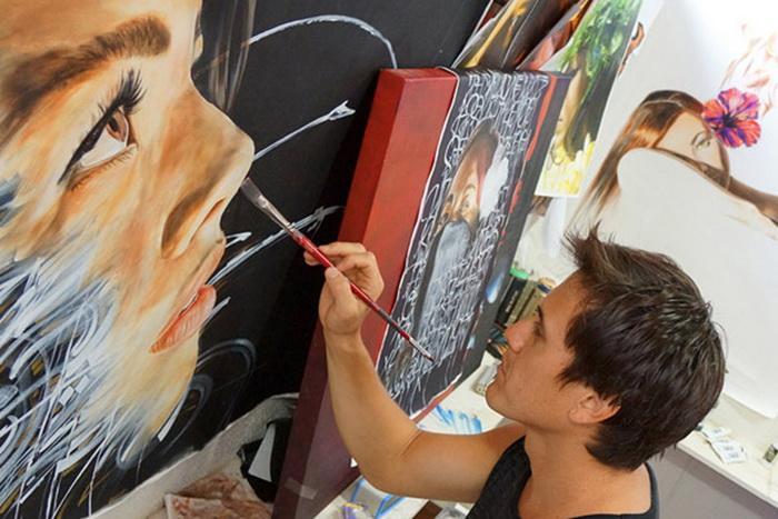 Потерянный рай: серия картин от гавайских художников