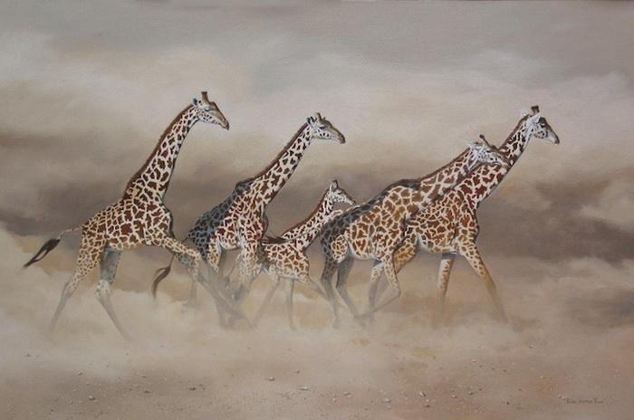 Karen Laurence-Rowe черпает вдохновение в дикой природе Кении