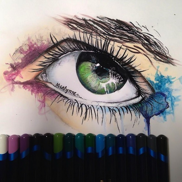 Гиперреалистические рисунки от художницы Karla Mialynne