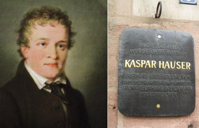История европейского сироты Каспара Хаузера.