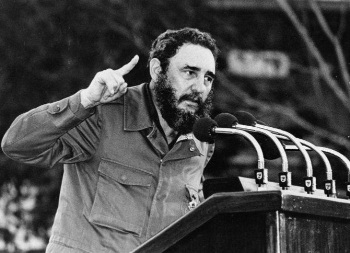 История меня оправдает: Фидель Кастро во время выступления. Фото: tvc.ru
