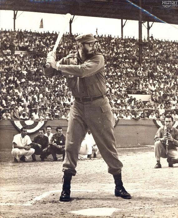 Фидель Кастро с юности был заядлым спортсменом. Фото: phistory.info