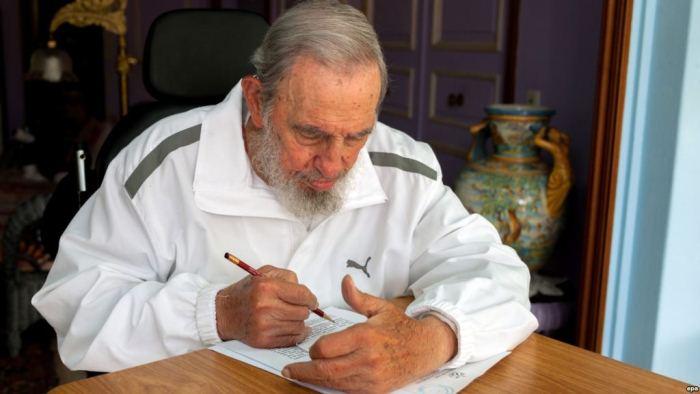 Фидель Кастро в спортивном костюме вместо привычной военной формы. Фото: rusila.su