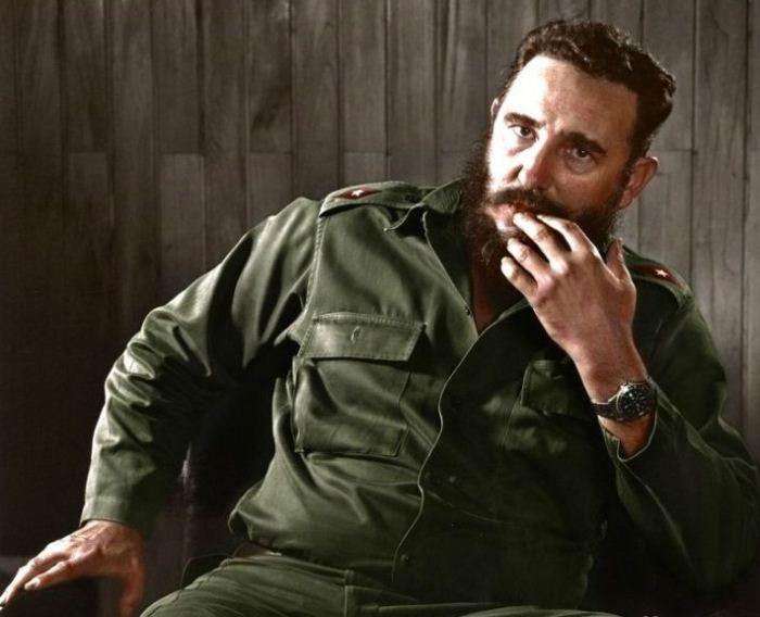 Фидель Кастро - лидер кубинской революции. Фото: rusila.su