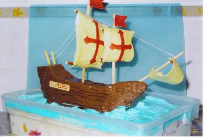 Торт-корабль от Кэти Кнаус (Kathy Knaus)