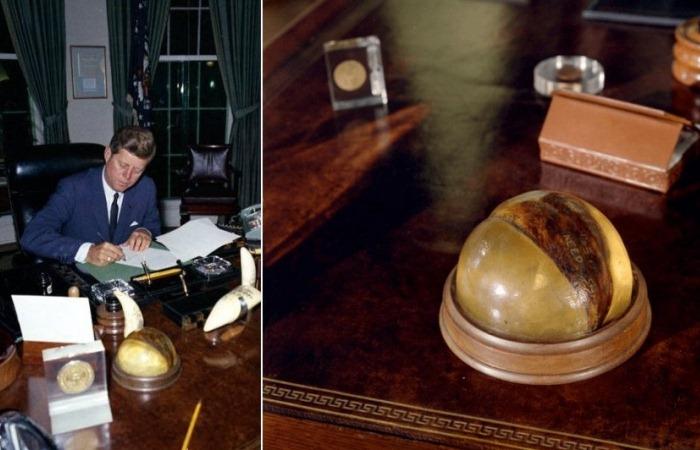 Скорлупа кокосового ореха Кеннеди
