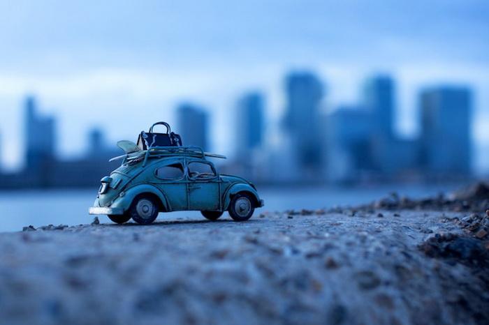 Фотографии игрушечных автомобилей от Ким Лойенбергер (Kim Leuenberger)