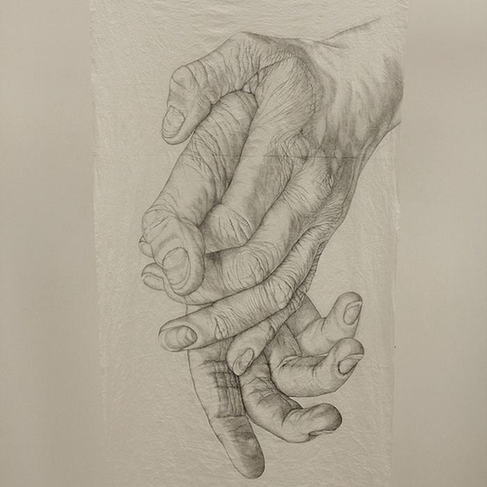 32. Кисти рук на рисунках Ким Андерсон