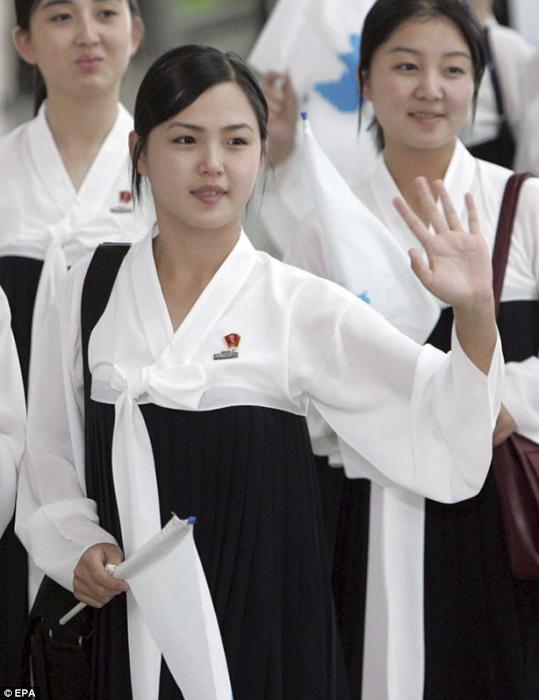 Ли Соль Чжу в бытность чирлидом.