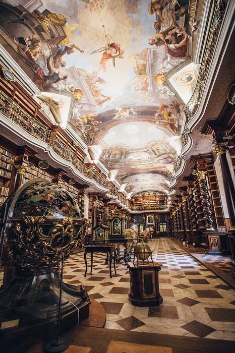 Клементинум - Национальная библиотека Чешской Республики