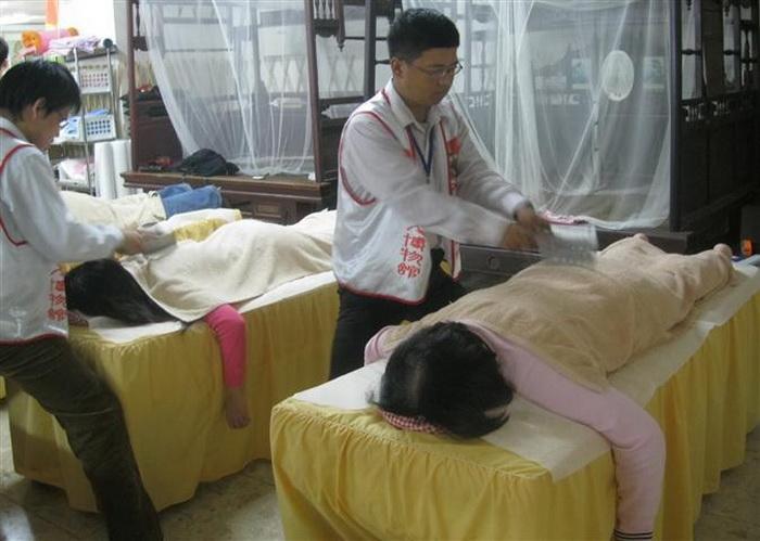 Китайский массаж для бесстрашных клиентов