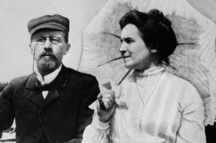 Ольга Книппер - последняя любовь Антона Чехова. 1902 год
