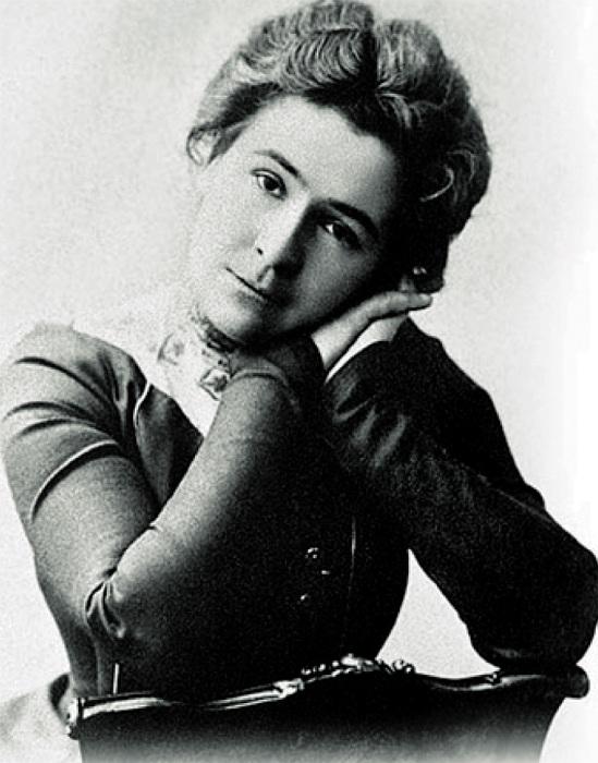 Ольга Книппер в молодости