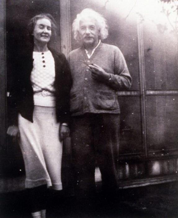 Маргарита Коненкова и Альберт Эйнштейн